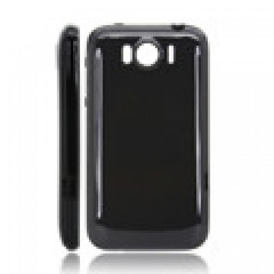 SIMPL TPU GEL ETUI ČRN - HTC SENSATION XL