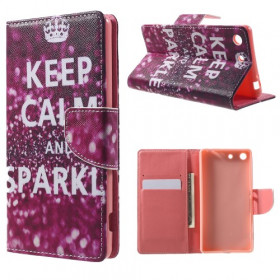 KEEP CALM AND SPARKLE - SONY XPERIA M5