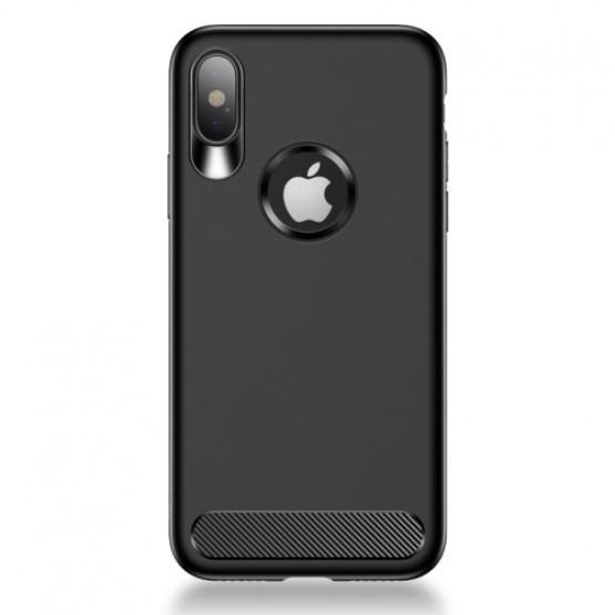 USAMS ANTI FINGER BLACK - APPLE IPHONE X / XS