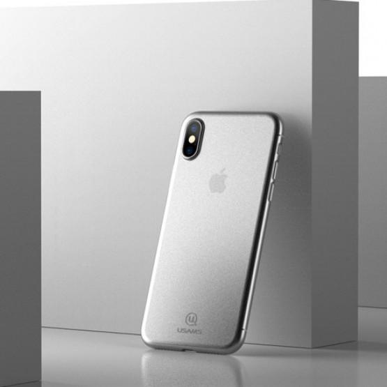 USAMS EKSTREMNO TANEK SOFT WHITE - APPLE IPHONE X / XS