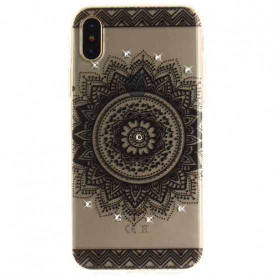 DIAMANTNA MANDALA - APPLE IPHONE X / XS