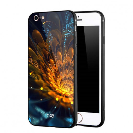 GLASS FLOWER ZLATA - APPLE IPHONE 6 / IPHONE 6S