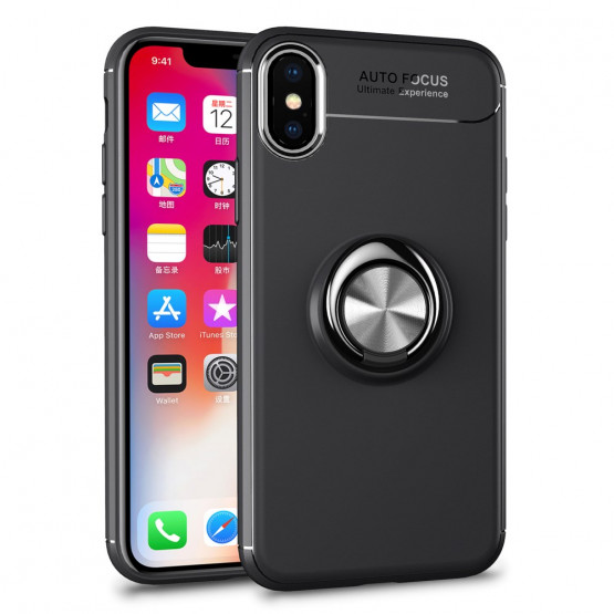 MAGNETIC PREMIUM SREBRN - APPLE IPHONE X / XS