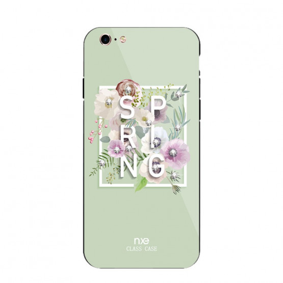 NXE GLASS SPRING ZELENA - APPLE IPHONE 6 / IPHONE 6S