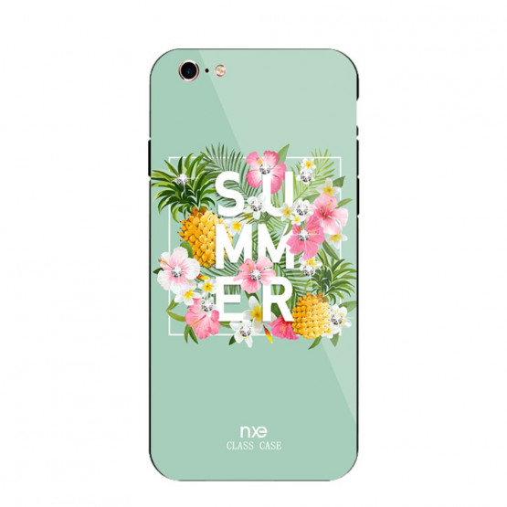 NXE GLASS SUMMER ZELENA - APPLE IPHONE 6 PLUS / IPHONE 6S PLUS