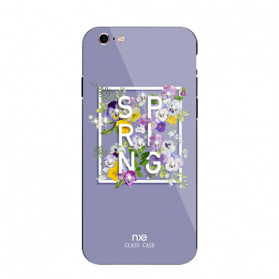 NXE GLASS SPRING VIJOLIČNA - APPLE IPHONE 6 PLUS / IPHONE 6S PLUS