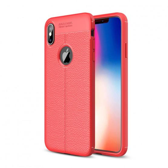 FLEX LEATHER RDEČ - APPLE IPHONE XS MAX