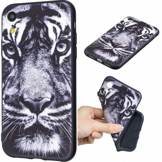 SLIM BLACK TIGER - APPLE IPHONE XR