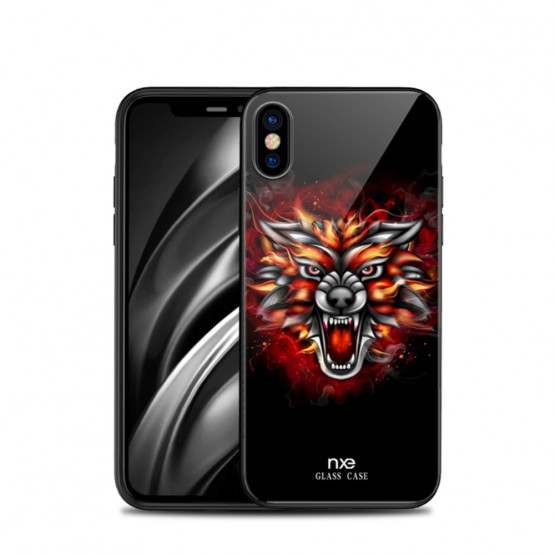 NXE GLASS ANGRY BEAST - APPLE IPHONE X / XS