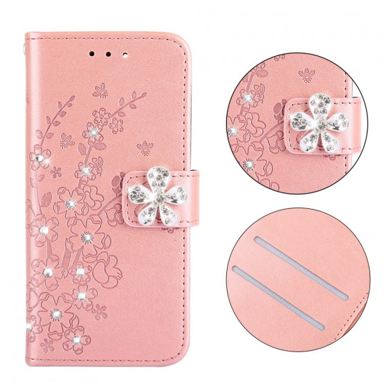 DIAMANTNI CVET ROSE GOLD - APPLE IPHONE XR