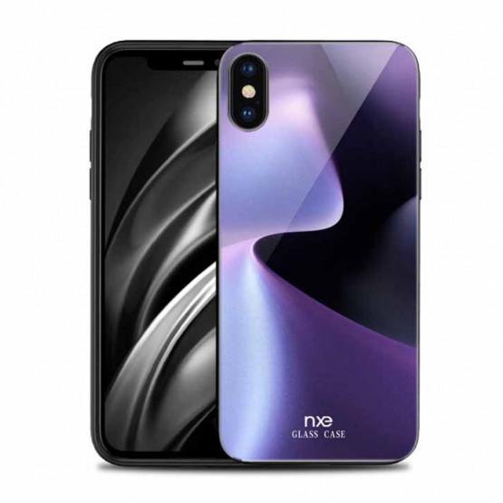 NXE GLASS VIJOLA SVETLOBA - APPLE IPHONE XS MAX