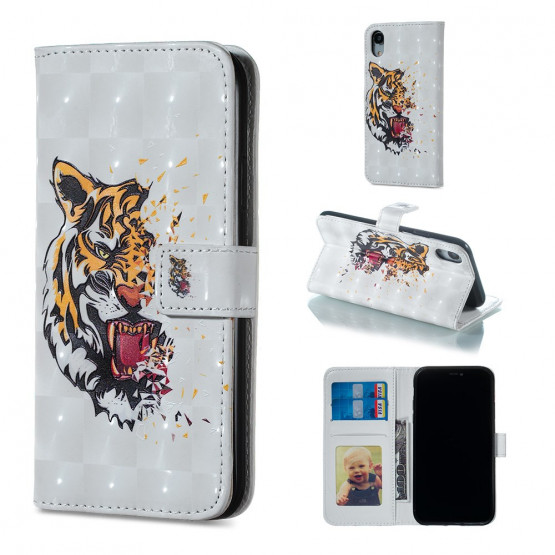 REALISTIC ANGRY TIGER - APPLE IPHONE XR