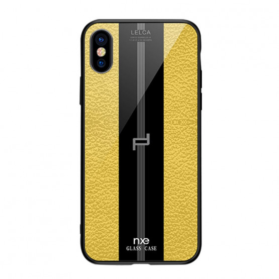 NXE GLASS LEATHER RUMEN - APPLE IPHONE XS MAX