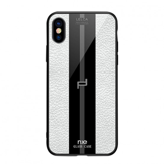 NXE GLASS LEATHER BEL - APPLE IPHONE XS MAX