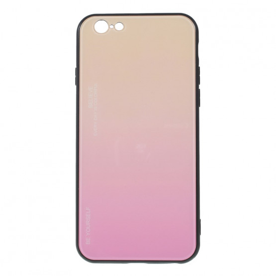 GLASS BE YOURSELF TWILIGHT GOLD OVITEK ZA IPHONE 6 PLUS/ 6S PLUS