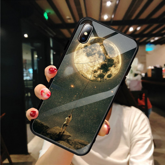 GLASS FULL MOON OVITEK ZA APPLE IPHONE XS MAX