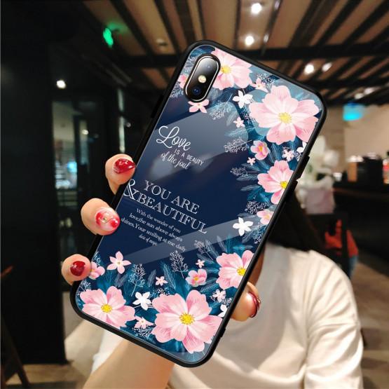 GLASS YOU ARE BEAUTIFUL OVITEK ZA APPLE IPHONE XS MAX