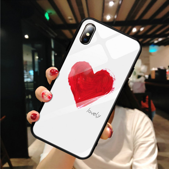 GLASS LOVELY OVITEK ZA APPLE IPHONE X / XS