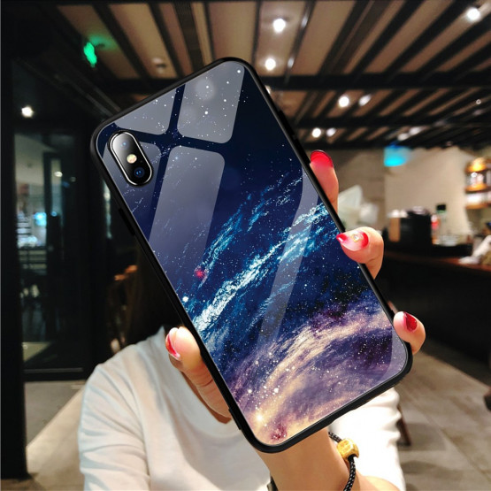 GLASS GALAKSIJA OVITEK ZA APPLE IPHONE X / XS