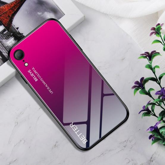 GLASS ROSE RED OVITEK ZA APPLE IPHONE XR