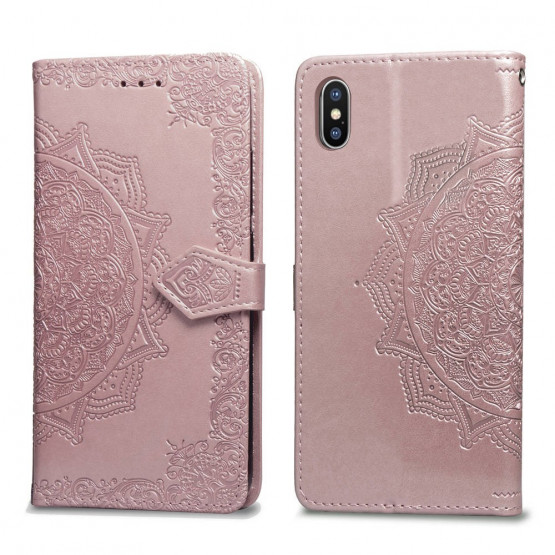 ROYAL MANDALA ROSE GOLD ETUI ZA APPLE IPHONE X / XS