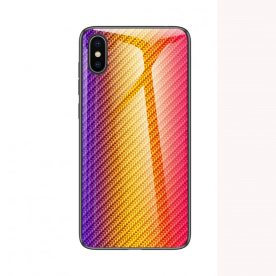 GLASS KARBON MAVRICA RUMEN OVITEK ZA APPLE IPHONE XS MAX