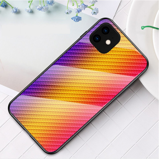 GLASS KARBON MAVRICA RUMEN OVITEK ZA APPLE IPHONE 11 PRO