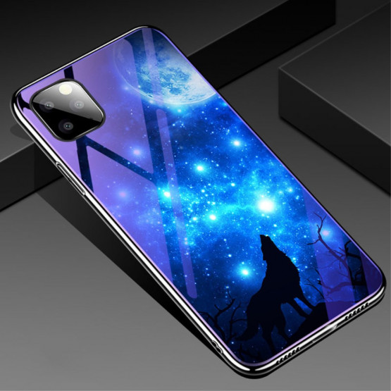 GLASS BLUE-RAY GALAKTIČNI VOLK OVITEK ZA APPLE IPHONE 11 PRO
