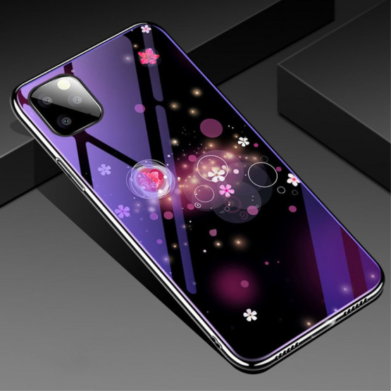 GLASS BLUE-RAY MAGIČNI BALONČKI OVITEK ZA APPLE IPHONE 11 PRO MAX