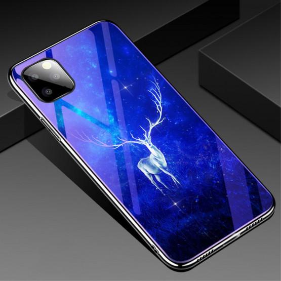 GLASS BLUE-RAY VSEMOGOČNI JELEN OVITEK ZA APPLE IPHONE 11 PRO MAX