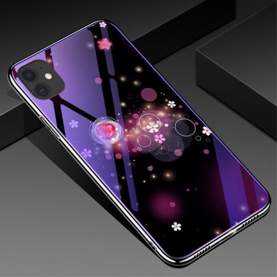 GLASS BLUE-RAY MAGIČNI BALONČKI OVITEK ZA APPLE IPHONE 11