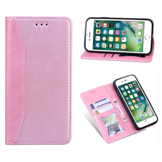 BUSINESS AUTO-ABSORBED PINK ETUI ZA APPLE IPHONE SE (2020) / IPHONE 8 / IPHONE 7