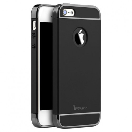 IPAKY PERFECT FIT BLACK - APPLE IPHONE 5 / 5S / SE