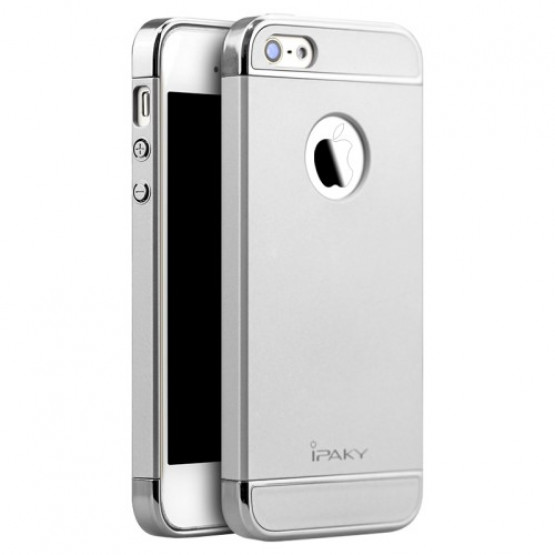 IPAKY PERFECT FIT SILVER - APPLE IPHONE 5 / 5S / SE