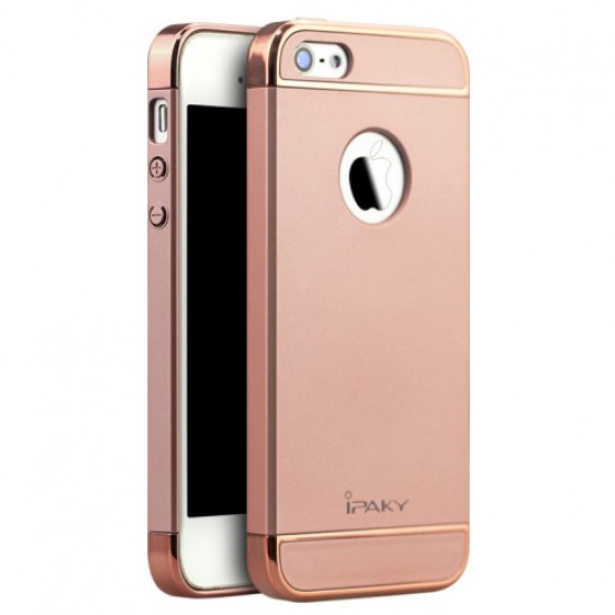 IPAKY PERFECT FIT ROSE GOLD - APPLE IPHONE 5 / 5S / SE