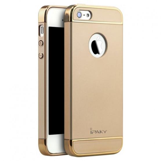 IPAKY PERFECT FIT GOLD - APPLE IPHONE 5 / 5S / SE