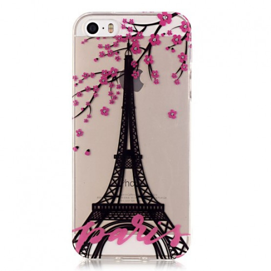 SLIM PROSOJNI PARIS - APPLE IPHONE 5 / 5S / SE