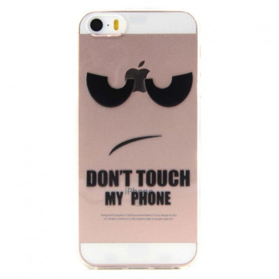 SLIM DON'T TOUCH MY PHONE - APPLE IPHONE 5 / 5S / SE