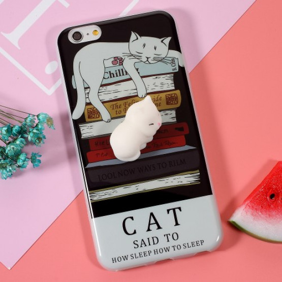 3D SILIKON CAT - APPLE IPHONE 6 PLUS / 6S PLUS