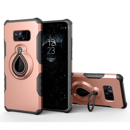 MAGNETIC RING ROSE GOLD - SAMSUNG GALAXY S8 PLUS