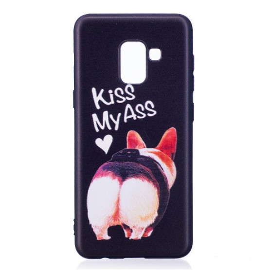 BLACK KISS MY ASS - SAMSUNG GALAXY A8 (2018)