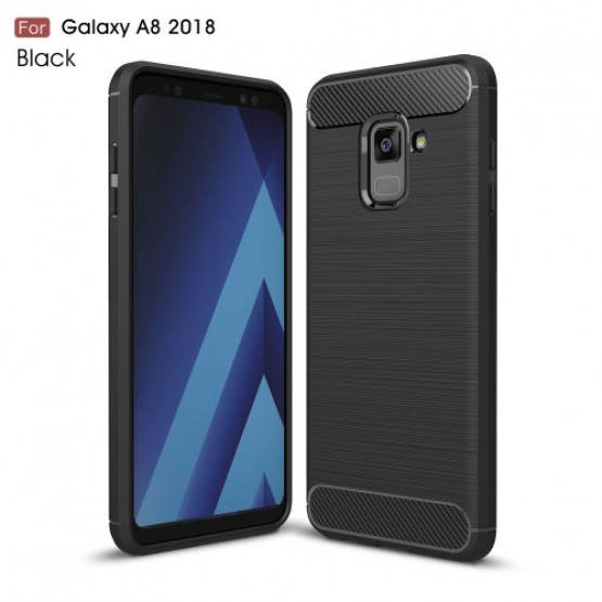 FLEX KARBON ČRN - SAMSUNG GALAXY A8 (2018)