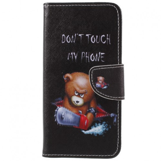 DON'T TOUCH MY PHONE ANGRY BEAR- SAMSUNG GALAXY S9 PLUS
