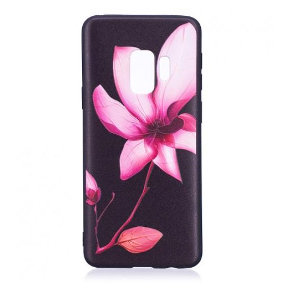 BLACK PINK FLOWER - SAMSUNG GALAXY S9