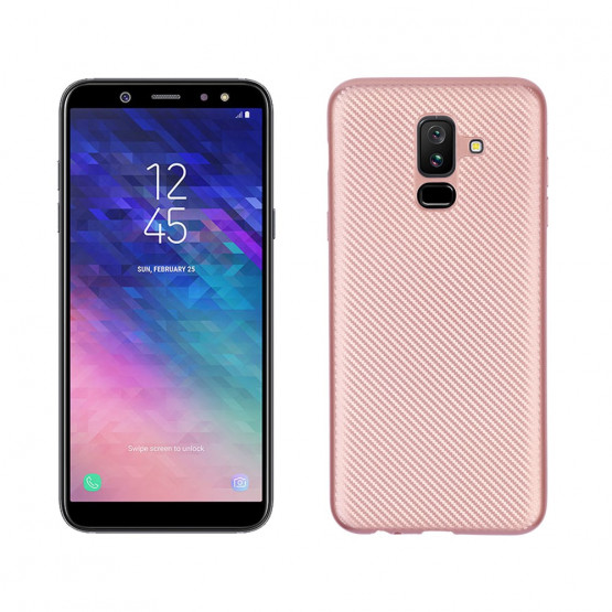 GEOMETRIC SOFT ROSE GOLD - SAMSUNG GALAXY A6 PLUS (2018)