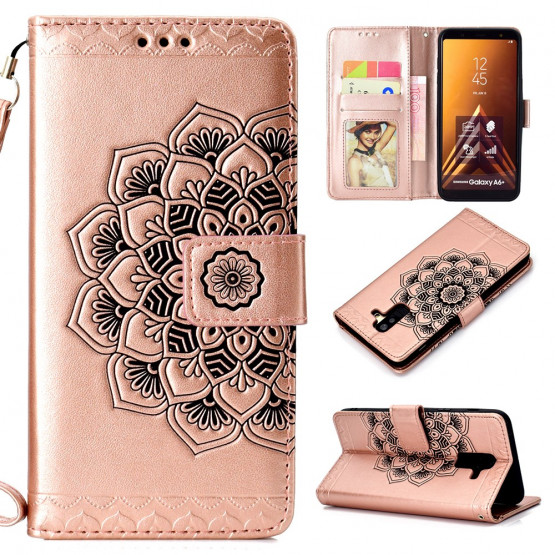 ROSE GOLD MANDALA - SAMSUNG GALAXY A6 PLUS (2018)