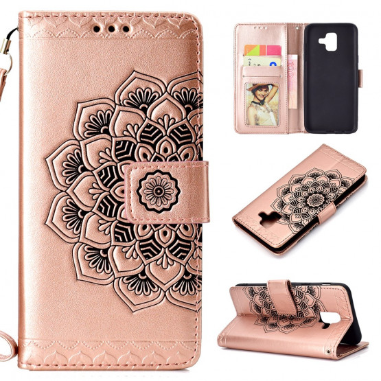 ROSE GOLD MANDALA - SAMSUNG GALAXY A6 (2018)