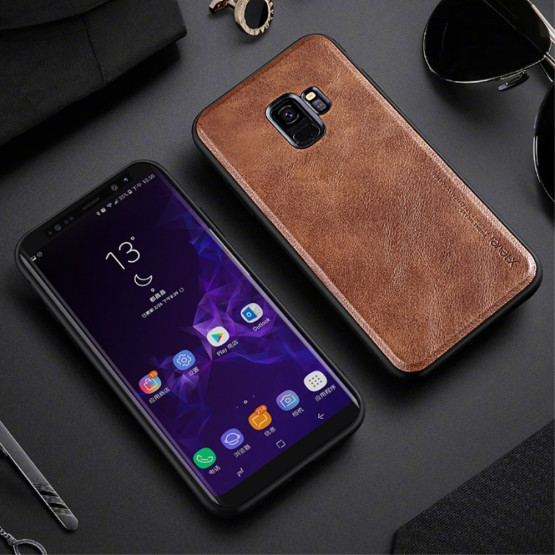 X-LEVEL VINTAGA LEATHER BROWN - SAMSUNG GALAXY S9