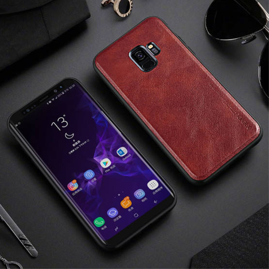 X-LEVEL VINTAGE LEATHER RED - SAMSUNG GALAXY S9