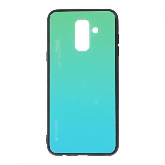 GLASS BE YOURSELF TWILIGHT MINT OVITEK ZA SAMSUNG GALAXY A6 PLUS (2018)